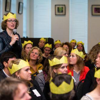 Topvrouwenbijeenkomst feb 2016 te gast bij Volker Wessels Amersfoort 25